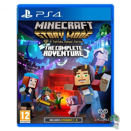 Игры PlayStation 4 Новые - Minecraft Story Mode The Complete Adventure РУС PS4