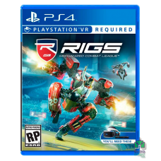 Rigs Mechanized Combat League ENG Б/У PS4 VR - интернет магазин Retromagaz