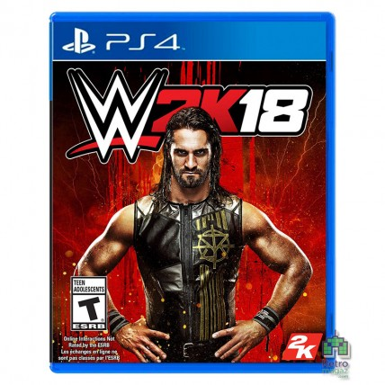 Игры PlayStation 4 Б/У - WWE 2K18 Б/У PS4