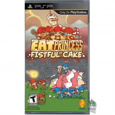 Fat Princess Fistful of Cake PSP (Без коробки) - интернет магазин Retromagaz