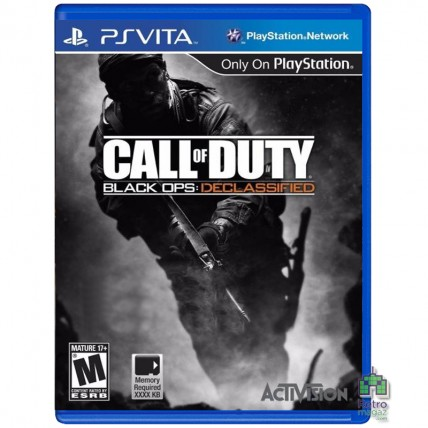 Игры PS Vita - Call of Duty Black Ops Declassified PS Vita