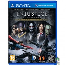 Injustice Gods Among Us Ultimate Edition РУС PS Vita