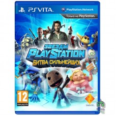 PlayStation All-Stars Battle Royale РУС PS Vita Б/У - интернет магазин Retromagaz