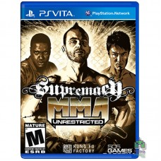 Supremacy MMA Unrestricted PS Vita Б/У - интернет магазин Retromagaz