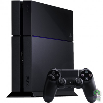 Консоли PlayStation 4 Б/У - PlayStation 4 500GB Black Матовая Б/У