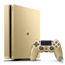 Playstation 4 Slim 500Gb Gold + DS4 Gold - интернет магазин Retromagaz