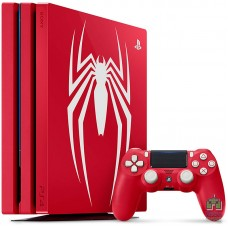 PlayStation 4 Pro 1TB Limited Edition Marvel's Spider-Man Red (Без Игры) - интернет магазин Retromagaz