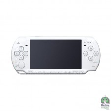 Sony PlayStation Portable PSP 1xxx Белая + карта памяти 1GB Б/У - интернет магазин Retromagaz