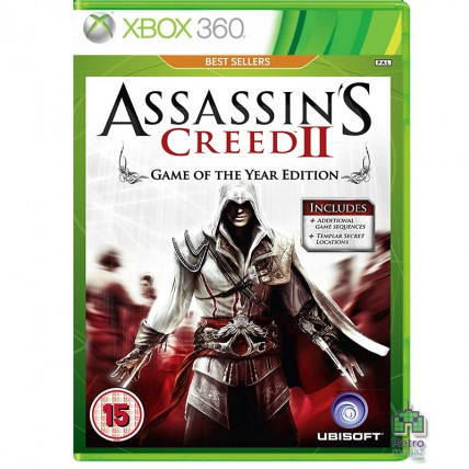 Xbox 360 Оригинал - Assassin's Creed 2 Game of the Year Edition Xbox 360