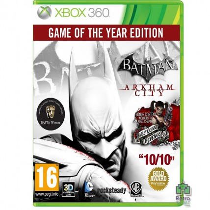 Batman Arkham City Game Of The Year Edition (2CD) Xbox 360 РУС Б/У