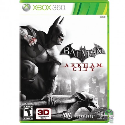 Xbox 360 Оригинал - Batman Arkham City Xbox 360 РУС Б/У