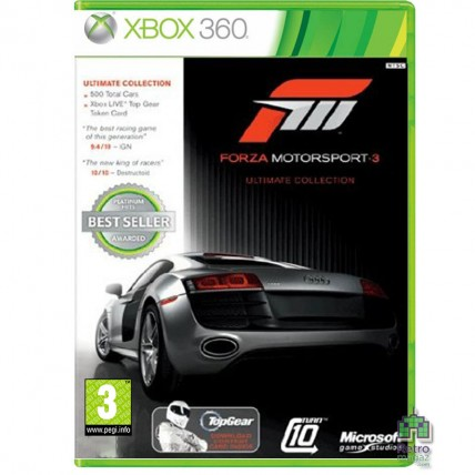 Xbox 360 Оригинал - Forza Motorsport 3 Ultimate Collection Русский Xbox 360 Б/У