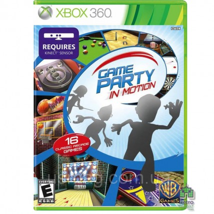 Game Party in Motion Xbox 360