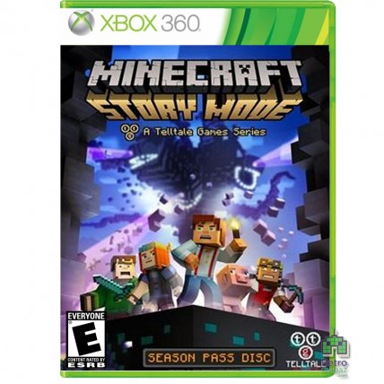 Xbox 360 LT3 - Minecraft Story Mode Б/У Xbox 360 LT 3.0