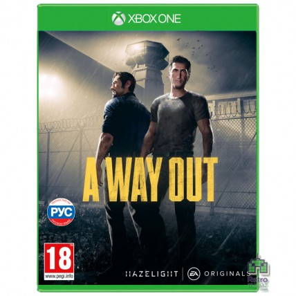 A Way Out Русская Озвучка Xbox One Б\У