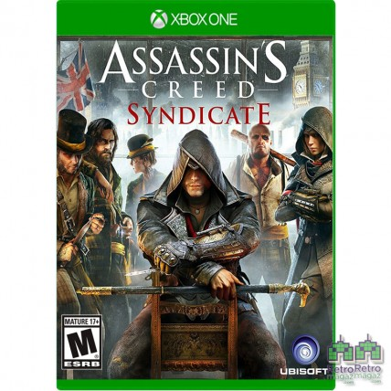Игры Xbox One - Assassin's Creed Syndicate Xbox One Б/У