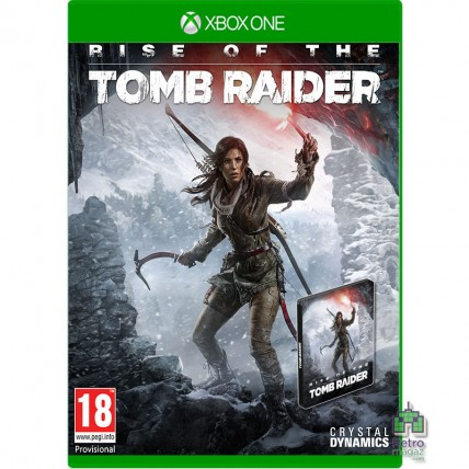 Игры Xbox One - Rise of The Tomb Raider Русская версия + SteelBook Xbox One