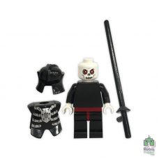 Lego Фигурка Skeleton Warrior 1 Воин-скелет 7009 2 Оригинал Б\У О - интернет магазин Retromagaz