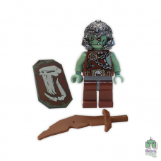 Lego Фигурка Troll Warrior 2 Тролль Воин 7037 1 Оригинал Б\У О - интернет магазин Retromagaz