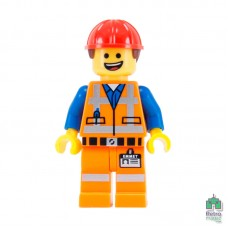 Lego Фігурка Series Movie Hard Hat Emmet Еммет в касці 2 Оригінал Б\У В - інтернет магазин Retromagaz
