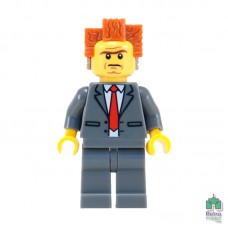 Lego Фигурка Series Movie President Business Президент Бизнес 2 Оригинал Б\У О - интернет магазин Retromagaz