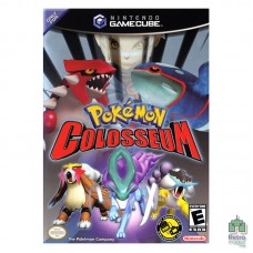 Pokemon Colosseum (Pal) Оригинал Б/У Уценка Nintendo GameCube - интернет магазин Retromagaz
