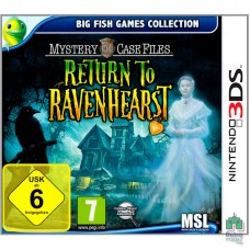 Return To Ravenhearst (Тільки Картридж) ENG Оригінал 3DS Б / У - інтернет магазин Retromagaz