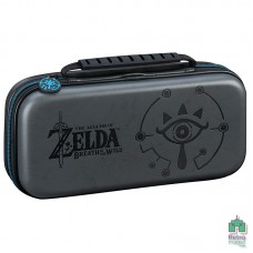 Твердый чехол Deluxe Travel Case Zelda Breath of the Wild Sheikah Big Ben Black |Черный Nintendo Switch - интернет магазин Retromagaz