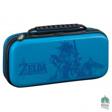 Твердый чехол Deluxe Travel Case Zelda Breath of the Wild Big Ben Blue| Синий Nintendo Switch  - интернет магазин Retromagaz