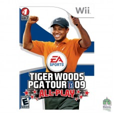 Tiger Woods PGA Tour 09 All-Play (PAL) Оригінал Б/У Nintendo Wii - інтернет магазин Retromagaz
