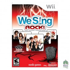 We Sing Rock! (PAL) Оригінал Б/У Nintendo Wii - інтернет магазин Retromagaz