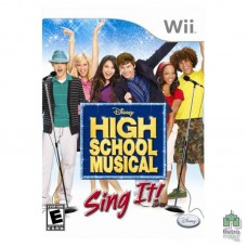 High School Musical Sing It! (U) Оригінал Б/У Nintendo Wii - інтернет магазин Retromagaz