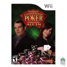 World Championship Poker Featuring Howard Lederer: All In (NTSC | U) Оригінал Б/У Nintendo Wii  - інтернет магазин Retromagaz