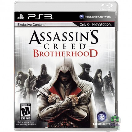 Игры PlayStation 3 - Assassin's Creed Brotherhood ENG Б/У (Без обложки) PS3