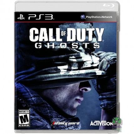 Игры PlayStation 3 - Call of Duty Ghosts ENG Б/У (Без Обложки) PS3