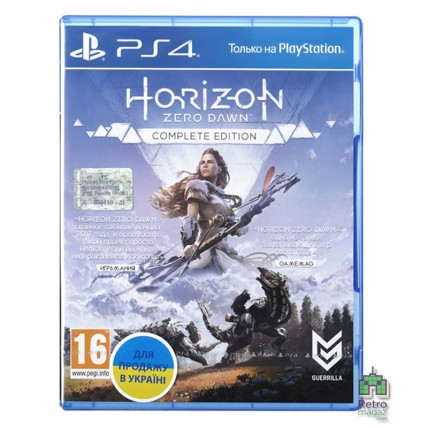 Игры PlayStation 4 Новые - Horizon Zero Dawn Complete Edition РУС PS4