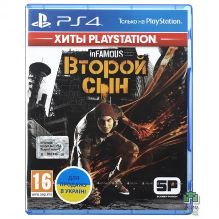 Игры PlayStation 4 Б/У - inFamous Second Son РУС Б/У PS4