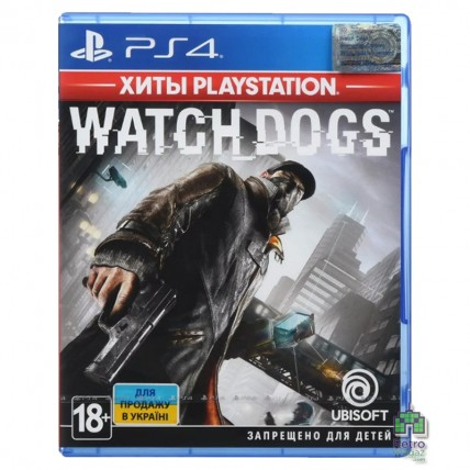 Игры PlayStation 4 Новые - Watch Dogs РУС PS4