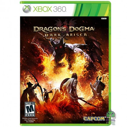 Xbox 360 Оригинал - Dragon's Dogma: Dark Arisen ENG Б/У Xbox 360