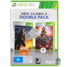 Fable 2 + Halo Wars ENG Б/У Xbox 360  - интернет магазин Retromagaz