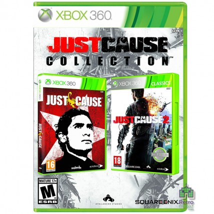 Xbox 360 Оригинал - Just Cause Collection ENG Б/У Xbox 360