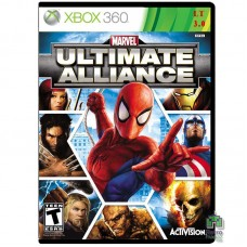 Marvel Ultimate Alliance Б/У Xbox 360 LT 3.0 - интернет магазин Retromagaz
