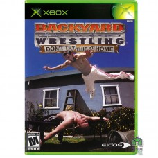 Backyard Wrestling Don't Try This at Home (PAL) Xbox Original Оригинал Б/У - интернет магазин Retromagaz