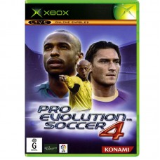 PES | Pro Evolution Soccer 4 (E) Xbox Original Копия Б/У - интернет магазин Retromagaz