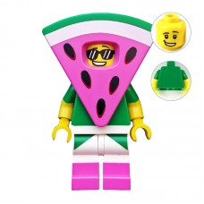 Lego Фигурка Watermelon Dude Парень-Арбуз tlm155 1 Оригинал Б/У О - интернет магазин Retromagaz