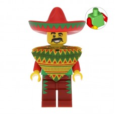 Lego Фигурка Taco Tuesday Guy Парень Тако Вторник tlm012 1 Оригинал Б/У О - интернет магазин Retromagaz