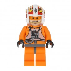 Lego Фигурка Rebel Pilot 12 Jek Porkins Пилот Джек Тоно Поркинс sw0372 1 Оригинал Б/У О - интернет магазин Retromagaz