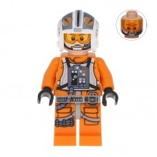 Lego Фигурка Rebel Pilot 14 X-wing Theron Nett Пилот Терон Нетт sw0544 1 Оригинал Б/У О - интернет магазин Retromagaz