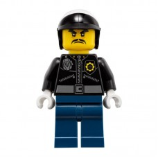 Lego Фигурка Officer Toque Офицер Токе njo357 1 Оригинал Б/У О - интернет магазин Retromagaz