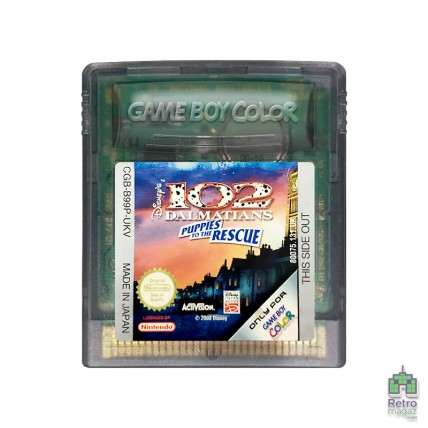 Ігри GameBoy Classic копия - 102 Dalmatians Puppies to the Rescue Nintendo GameBoy Color Б/В (Tільки картридж) (Копія)